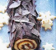 Dark Chocolate Buche De Noel